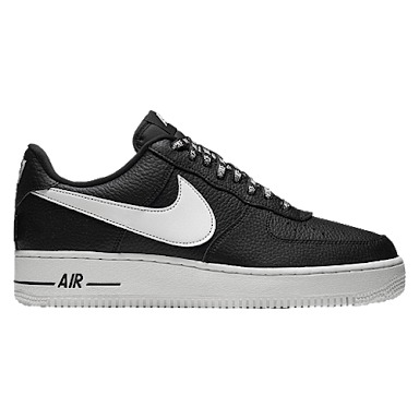 7c871a9aed558 Tenis Nike Air Force One 1 Nba Low Black And White -   1