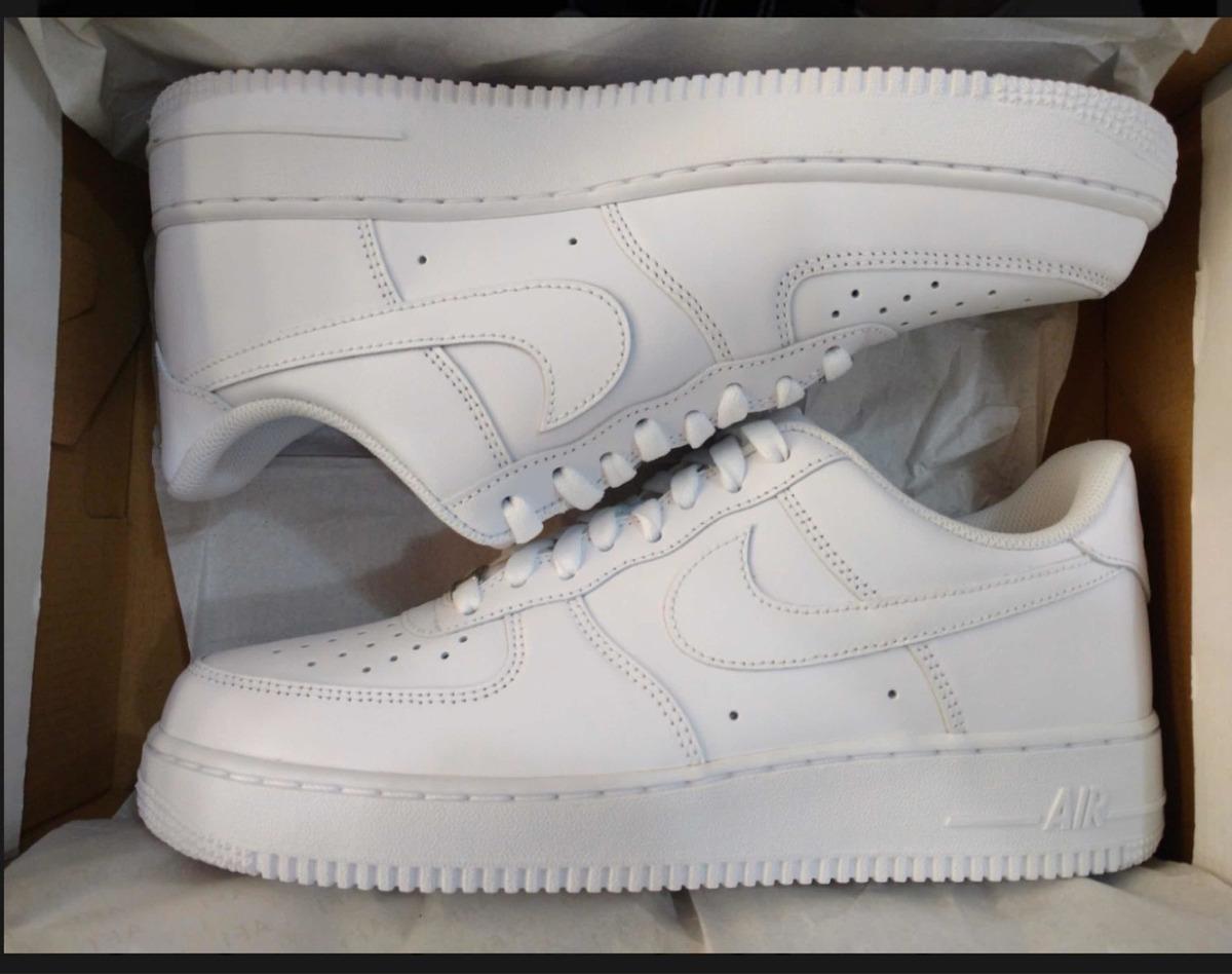 Tenis Nike Air Force One ( 23.5 )blancos Mujer Originales