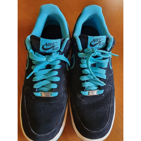 Tênis Nike Air Force One And The Swoosh 1982 Azul Obc Store