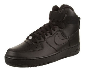 Tenis Nike Air Force One Bota Negro + Envio Gratis Original