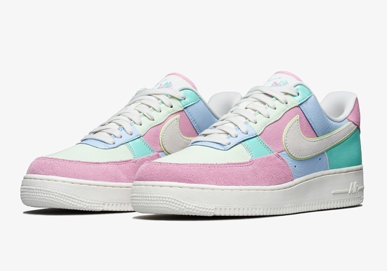 Tenis Nike Air Force One Easter Mujer 2018