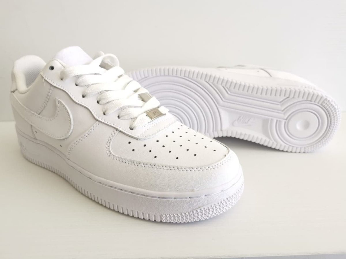 Zapatillas Nike Air Force Grises Stock Ya En Caja