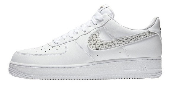 nike air force 1 just do it hombre