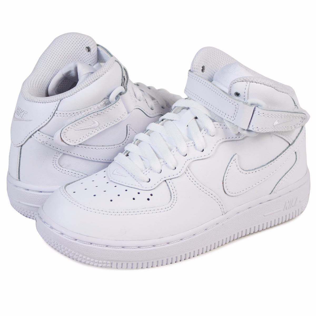 505964bae3c75 Tenis Nike Air Force One Mid Original Nuevo 314196-113 -   1