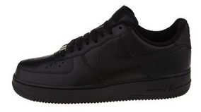 Tenis Nike Air Force One Negra Original Envio Gratis