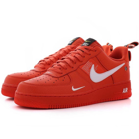 nike air force 1 hombre rojas