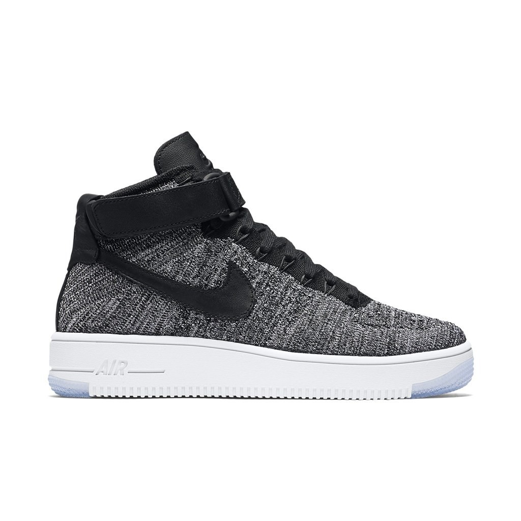 Tenis Nike Air Force One Ultra Flyknit Oreo Dama Casuales