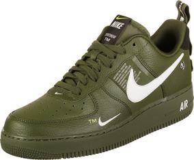 air force 1 verde hombre