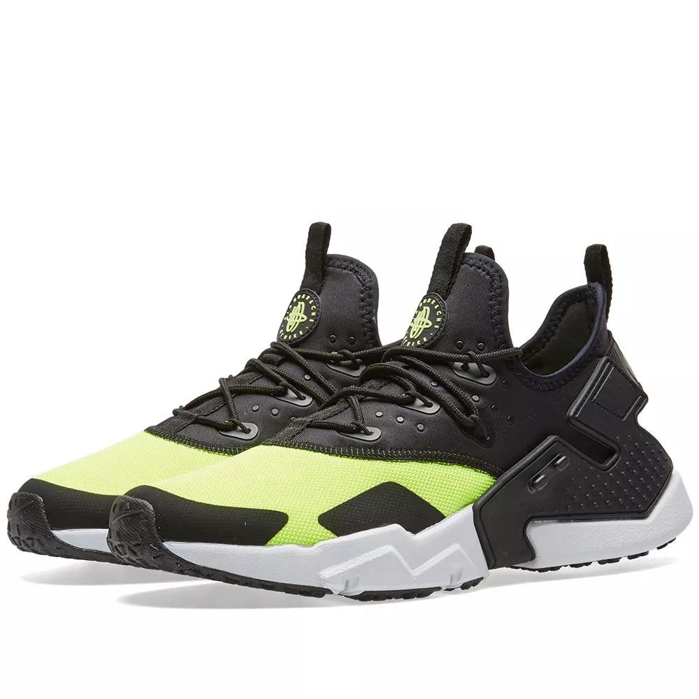 72e2c6aa793 Tenis Nike Air Huarache Drift Black Volt Originales Max - $ 1,920.00 ...