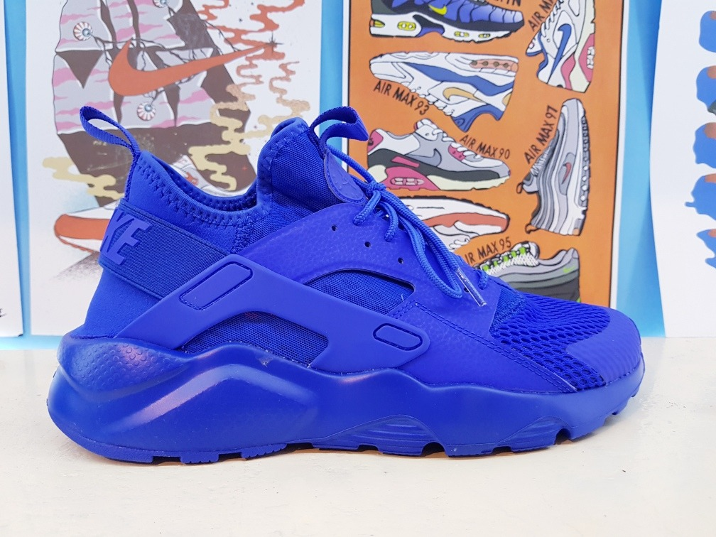 low cost 8079a 99ec1 tenis nike air huarache run ultra . azul. Carregando zoom.
