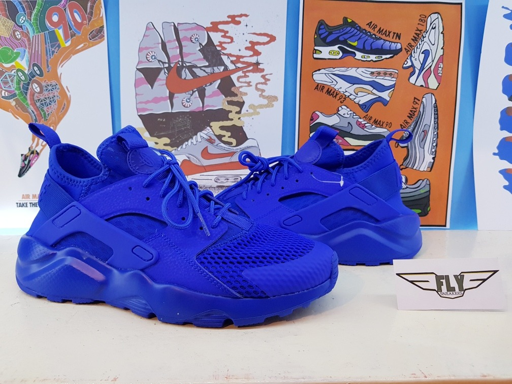 low cost 7ded3 fbf14 tenis nike air huarache run ultra . azul. Carregando zoom.