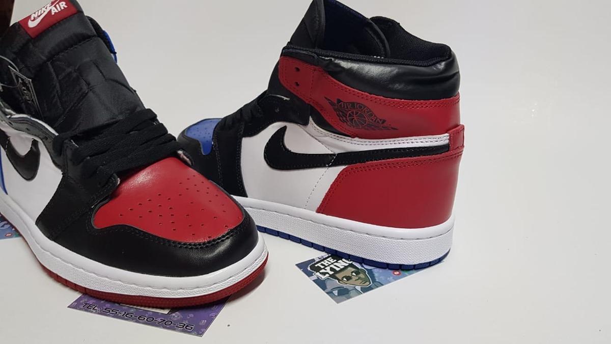 3ac201a32b408 ... get tenis nike air jordan 1 azul rojo top 3 envió gratis. cargando zoom.