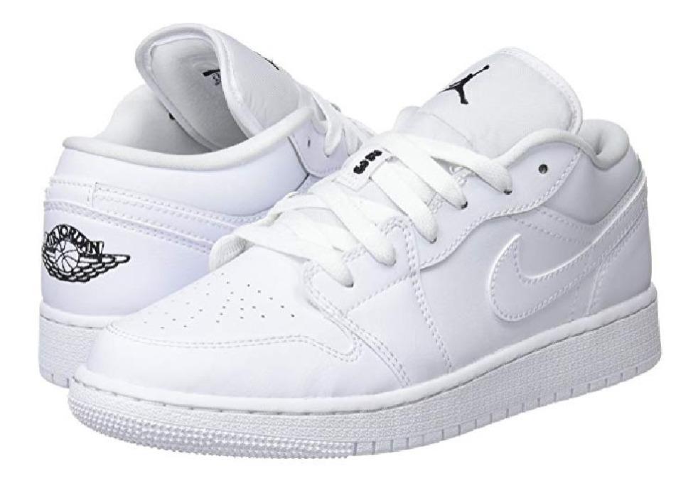 Tenis Nike Air Jordan 1 Low Gs, Zapatillas Para Niños 25mx