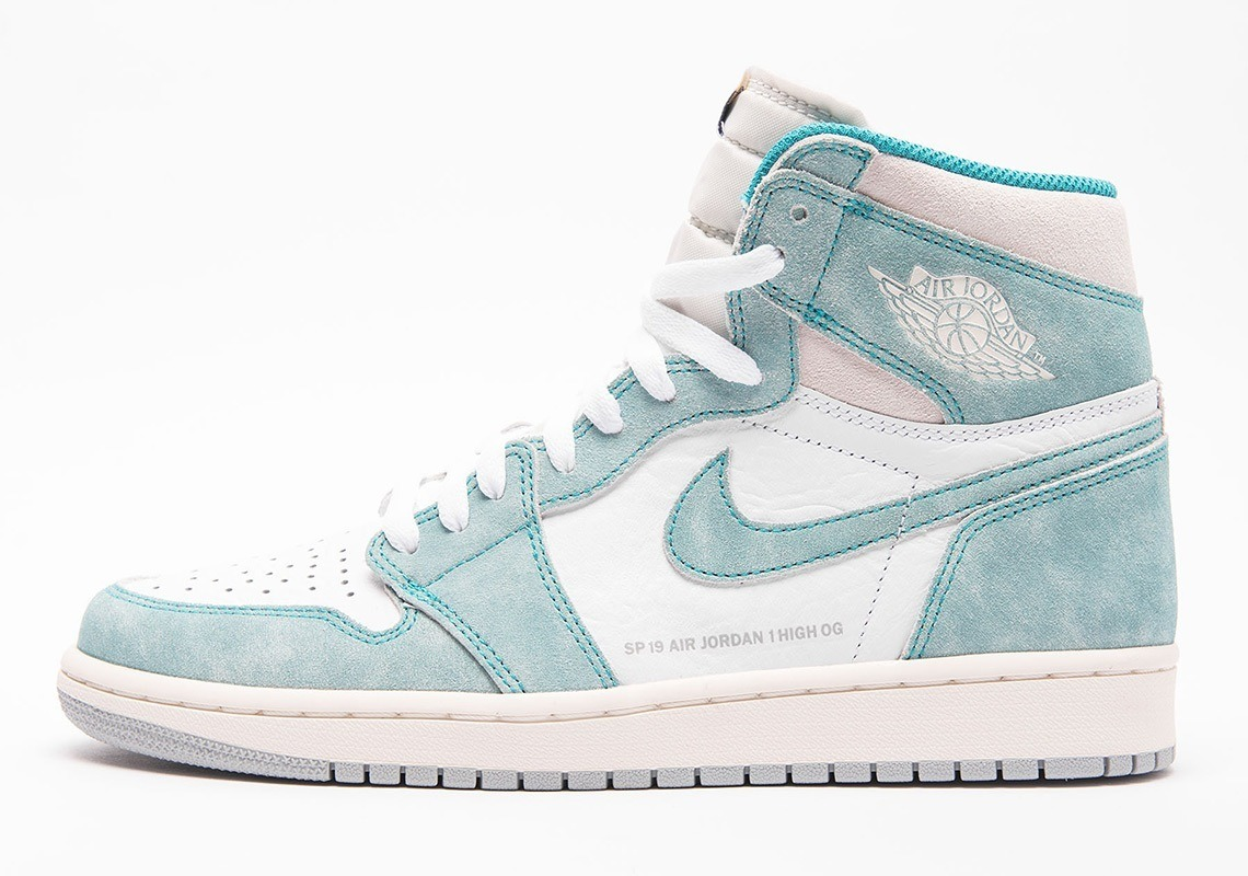 Tenis Nike Air Jordan 1 Retro High Turbo Green Mujer
