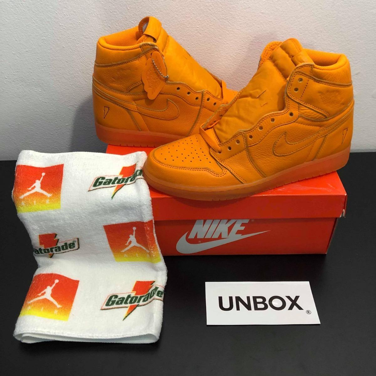 huge selection of e8e54 f4c31 Tenis Nike Air Jordan 1 Retro Og Gatorade - Orange Peel