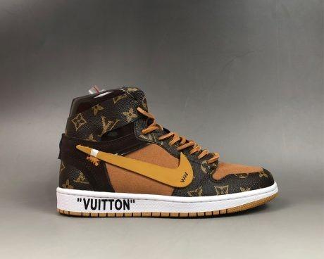 6c47f2ca6bb Tenis Nike Air Jordan 1 X Off White X Louis Vuitton -   189.900 en ...