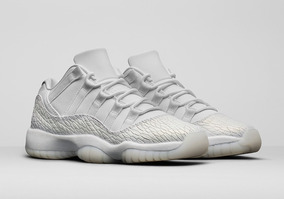 402df7da462 Tenis Nike Air Jordan 11 Retro Low Heiress Branco