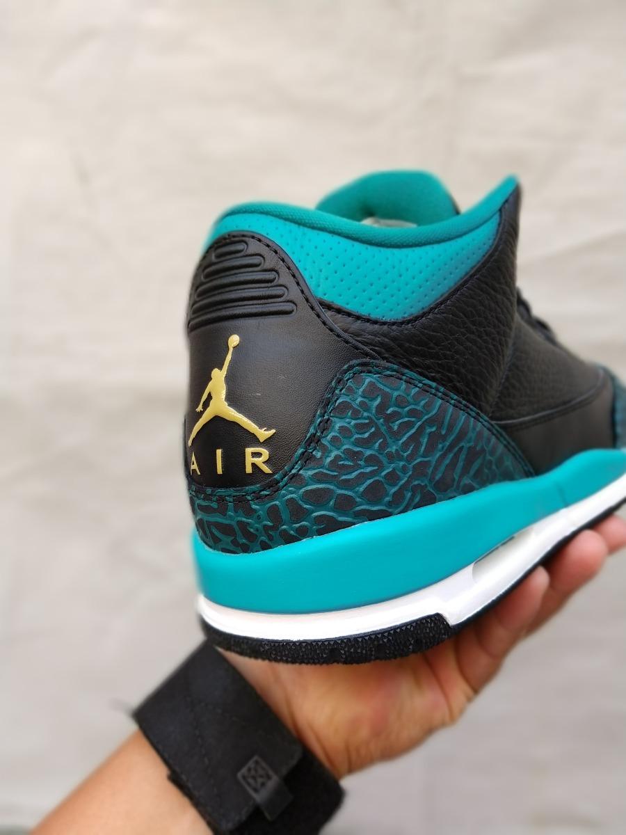 release date: bc91b 0f0e9 Tenis Nike Air Jordan 3 Retro Gg Jaguars 100% Originales