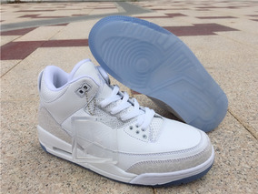 e7f7efba534 Tenis Nike Air Jordan 3 Retro Pure White Original. R  599. 12x R  49 sem  juros