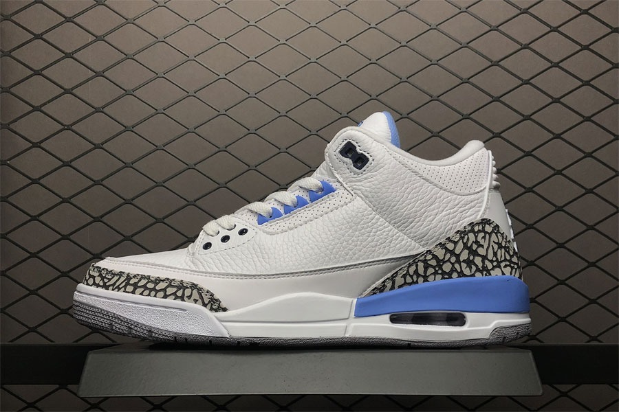 buy online cc36a eb231 Tenis Nike Air Jordan 3 Retro Unc Original Na Caixa