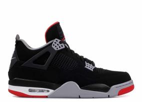 90cfc284583 Tenis Nike Air Jordan 4 Retro Bred 2019 + Envió Gratis