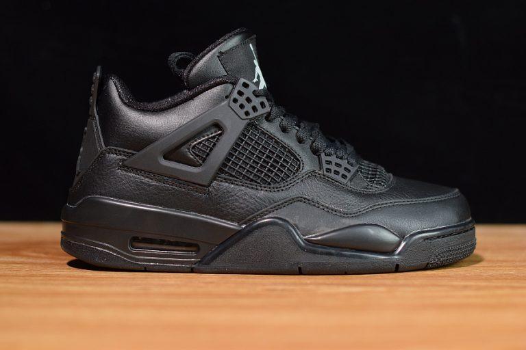 size 40 7b434 d4cec Tenis Nike Air Jordan 4 Retro Triple Black Original Na Caixa