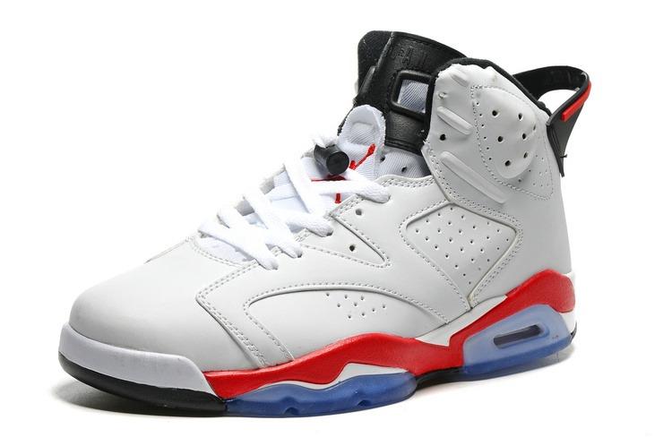 Tenis Nike Air Jordan 6 Retro Infrared White Original - R  600 e29ee5c7e5089
