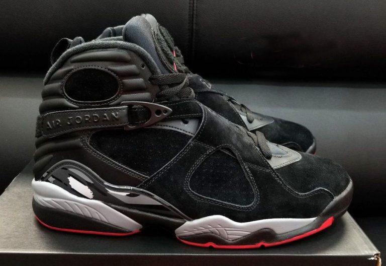 official photos a9c1c f795e Tenis Nike Air Jordan 8 Retro Black Cement Original Na Caixa