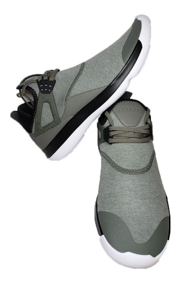 Tenis Nike Air Jordan Fly 89 Gris Negro Sneakers Basketball Basquetbol