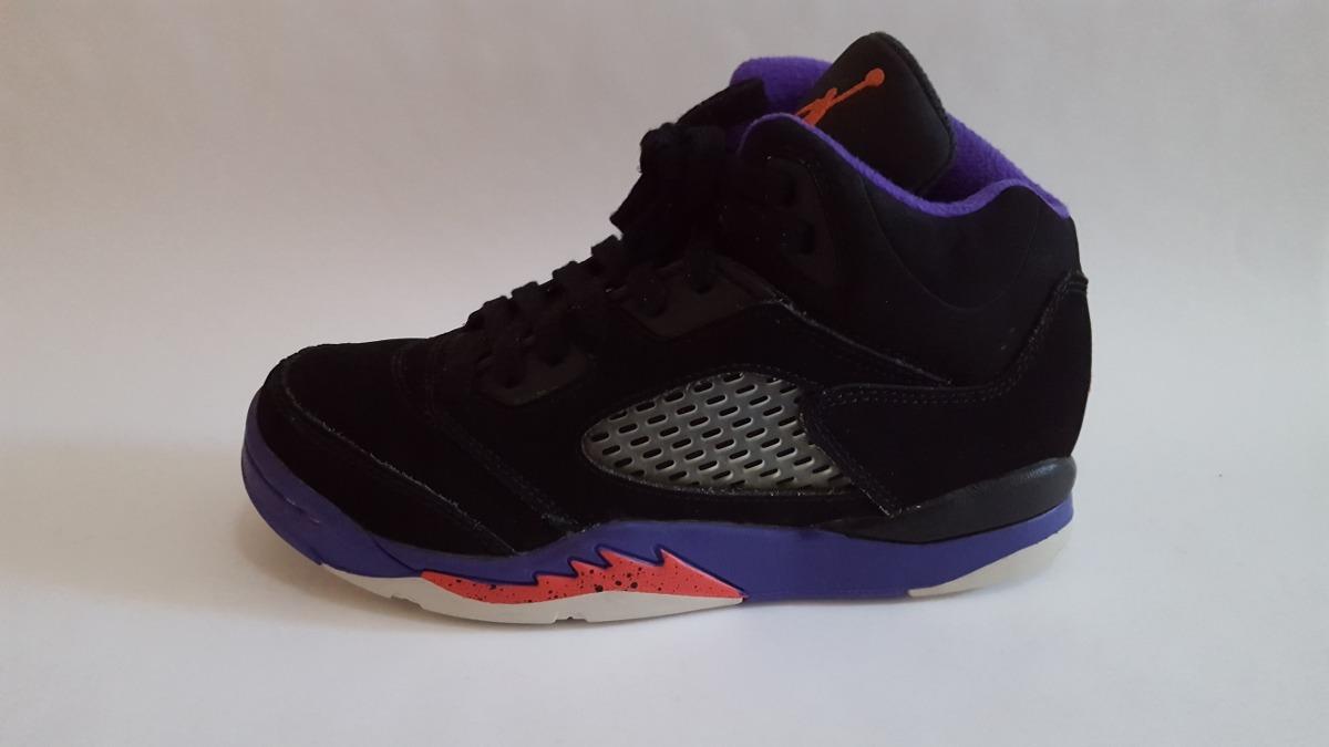 7e8fc60bd18a2 Tenis Nike Air Jordan Retro 5 Raptors Originales -   800.00 en ...
