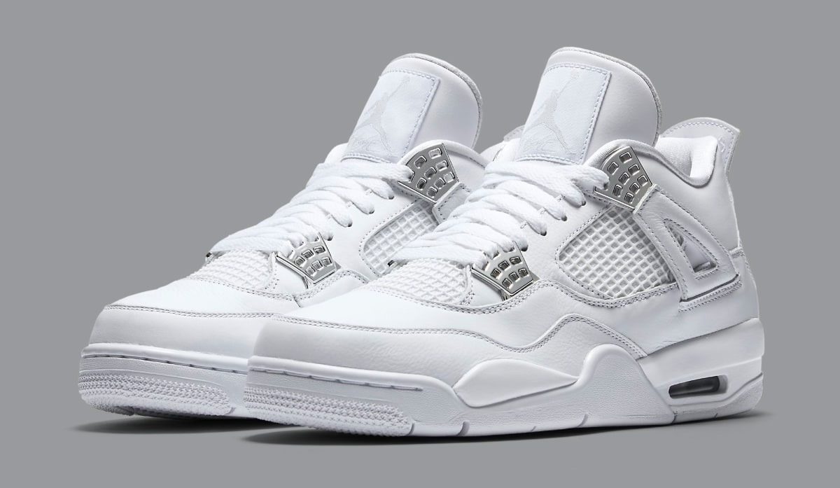 a13a3973d5168 Tenis Nike Air Jordan Retro4iv Pure Money308497-100 Original - R ...