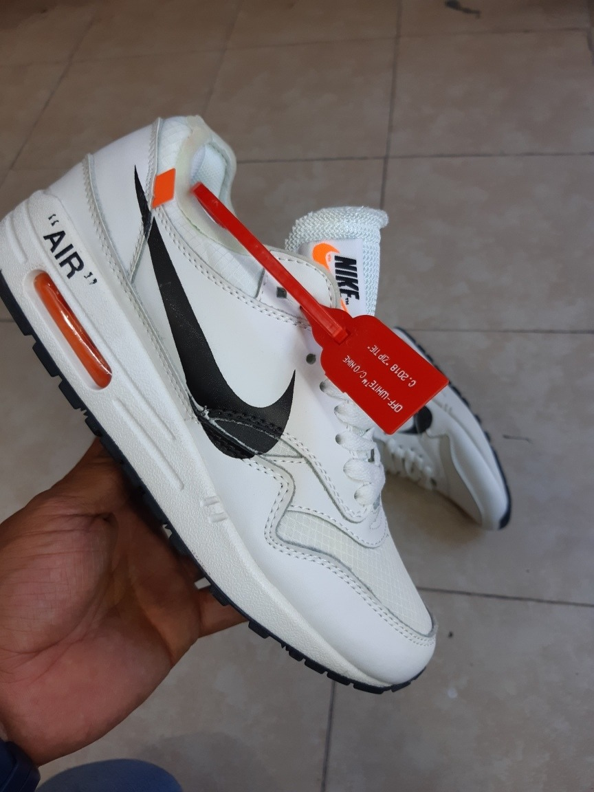 Tenis Nike Air Max 1 Off White Ice