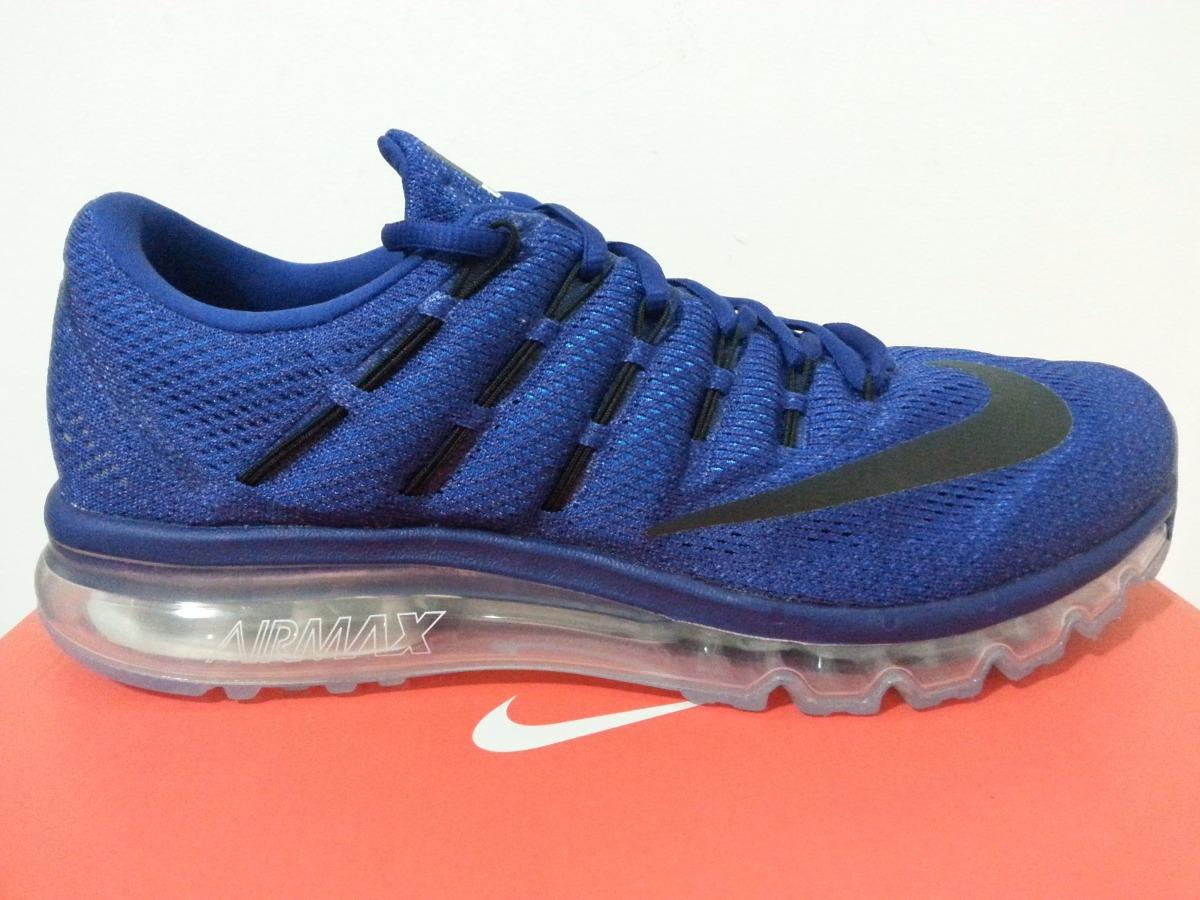ab714179a9bdc ... new style tenis nike air max 2016 blue 100 nuevos originales. cargando  zoom. c5926