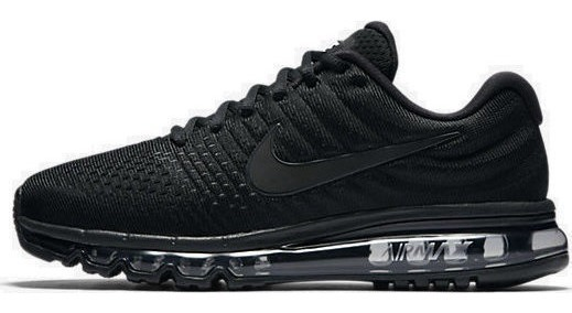 Tenis Nike Air Max 2017 Correr Gym Crossfit Triple Black