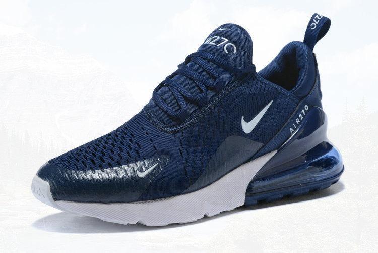 CaballeroZapatillas Nike 270 Air Max Tenis Azules Oscuras OPiukZTX