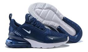 Tenis Nike Air Max 270 Azules Oscuros Hombre, Zapatillas.