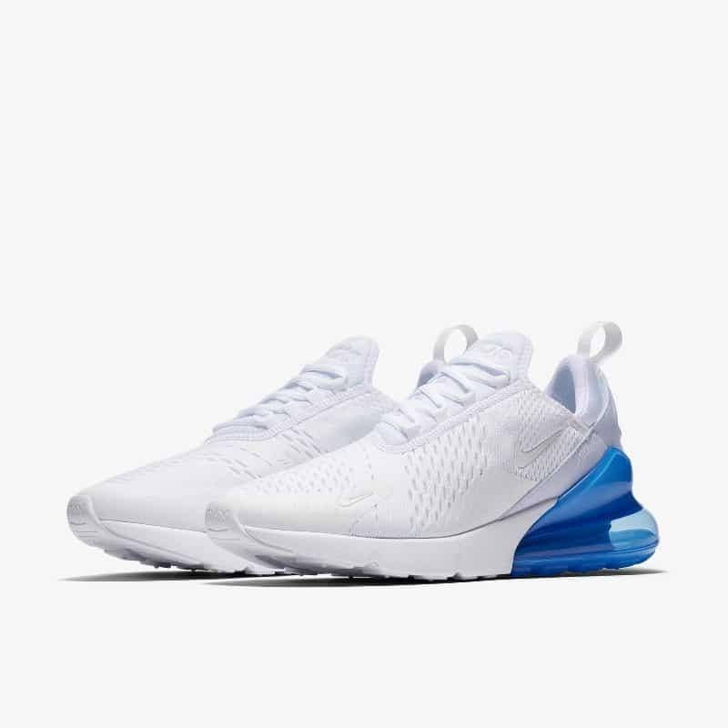 online store 356b1 3ceb9 tenis nike air max 270 blanco azul. Cargando zoom.