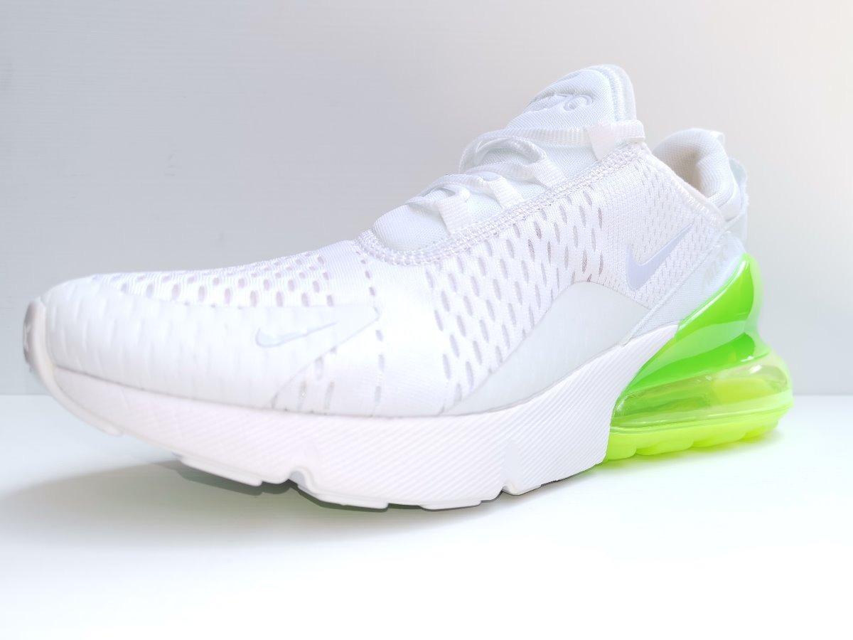 diseño de calidad 77371 bb2f8 Tenis Nike Air Max 270 Blanco Flourecente Hombre