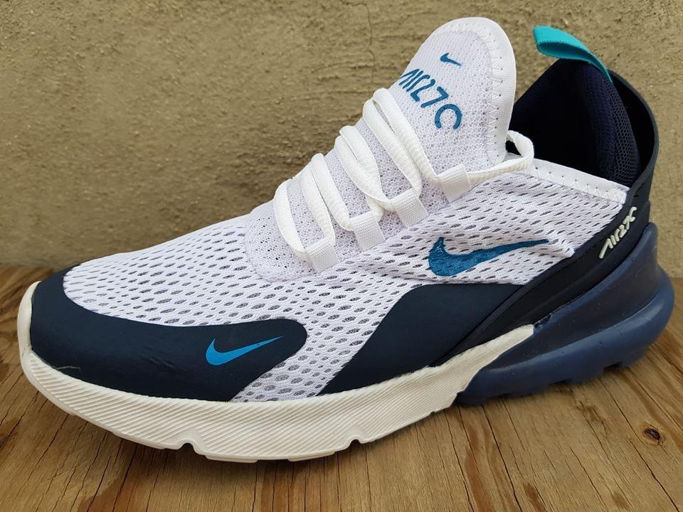 1adbe8637ac57 Tenis Nike Air Max 270 Blanco azul Envio Gratis -   455.00 en ...