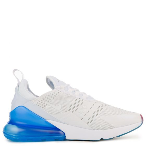 7b6fe0cbf5 Tenis Nike Air Max 270 Branco Azul Original - R  579