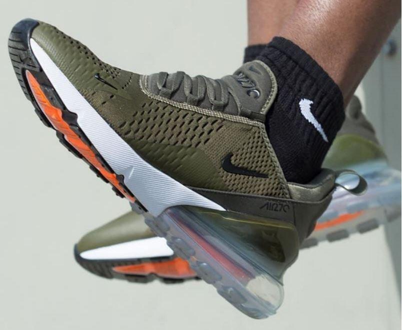 caliente Tenis Nike Air Max 270 Military Green Envio Gratis