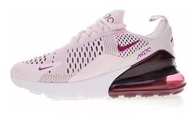 Tenis Nike Air Max 270 Morado En Caja Y Envio Gratis