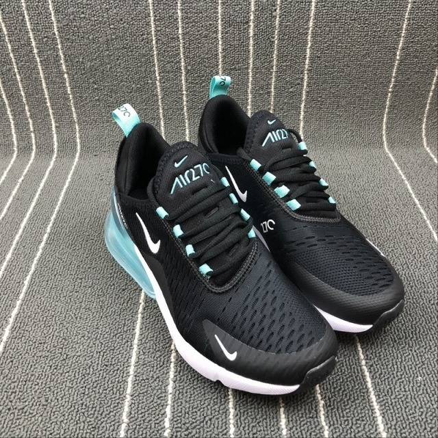 check out c2337 48f85 tenis nike air max 270 negra con azul, para dama, zapatillas