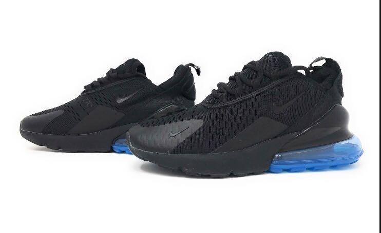 Tenis Nike Air Max 270 Negro azul Caja Envio Gratis