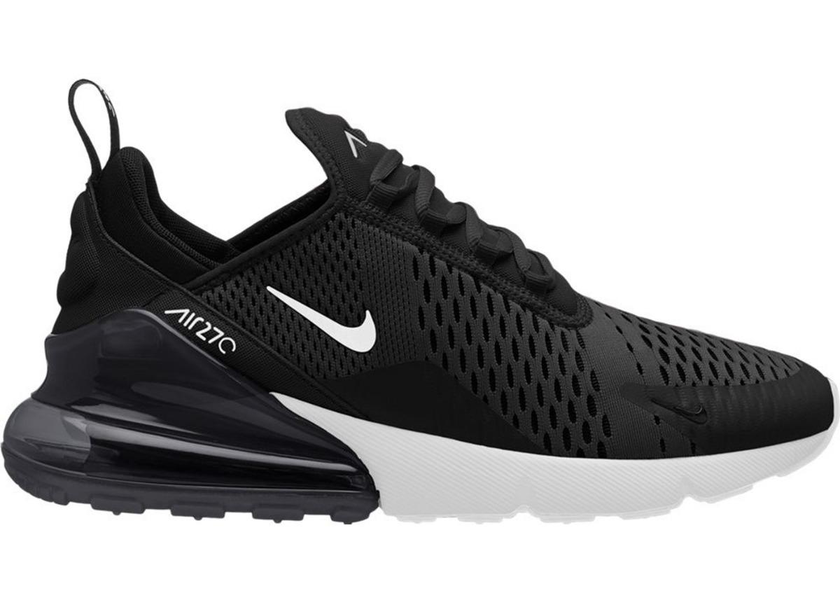 Tenis Nike Air Max 270 Negro Blanco Running Running Blanco Correr Hombre 836126