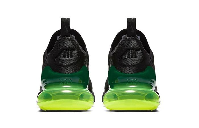 118ec96a9a8 Tenis Nike Air Max 270 Negro Neon Original -   1