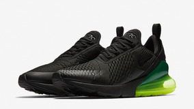 Tenis Nike Air Max 270 Negro Neon Original
