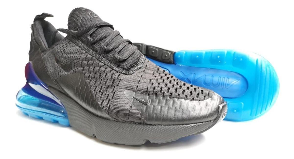 Tenis Nike Air Max 270 Negroazul Para Hombre Envio Gratis