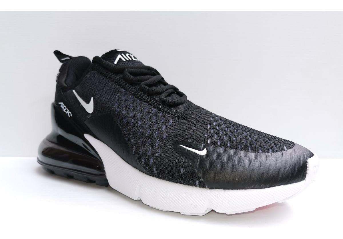 Tenis Nike Air Max 270 Negroblanco Hombre Envio Gratis