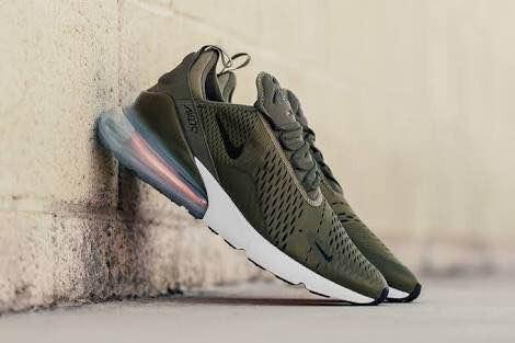 a3a0bc559df0 Tenis Nike Air Max 270 Olive Green -   1